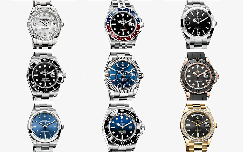 Swiss Replica Rolex Fake Watches