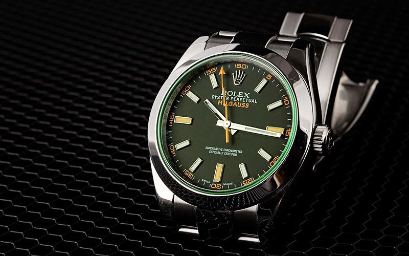 Rolex Milgauss Green Swiss Replica Review