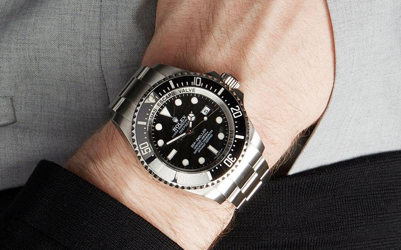 Swiss Replica Rolex Deepsea 904l Steel 126660