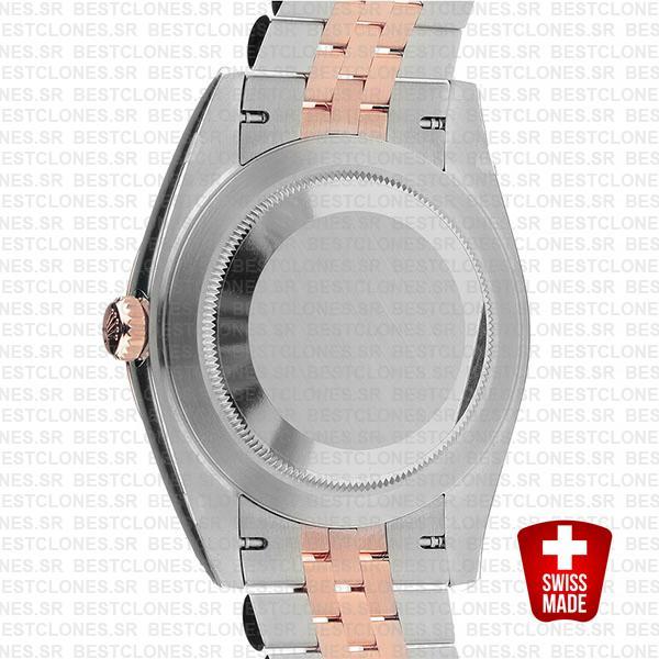 Rolex Datejust 41 Jubilee 2 Tone 18k Rose Gold Swiss Replica