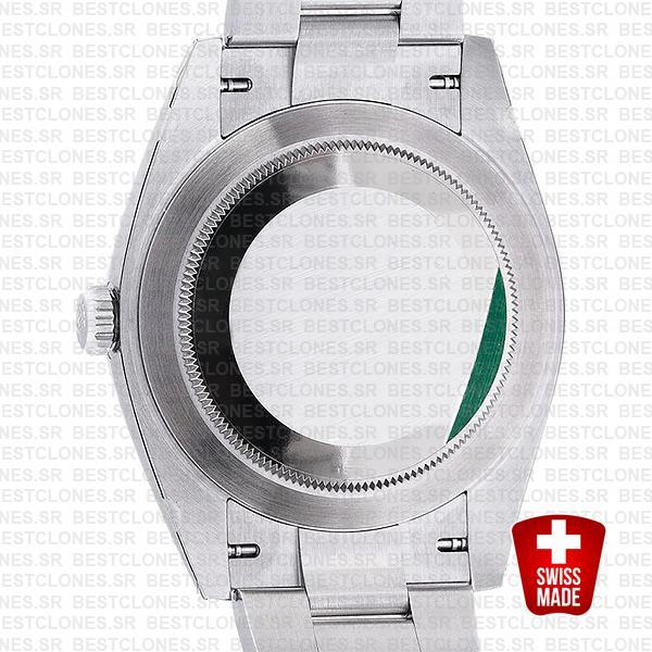Rolex Datejust 41 Oyster Steel 18k White Gold Swiss Replica