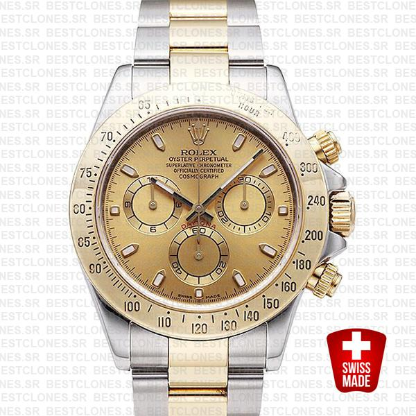 Rolex Daytona 2 Tone Gold 40mm 116523