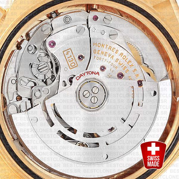 Rolex Daytona 4130 Swiss Cloned Movement