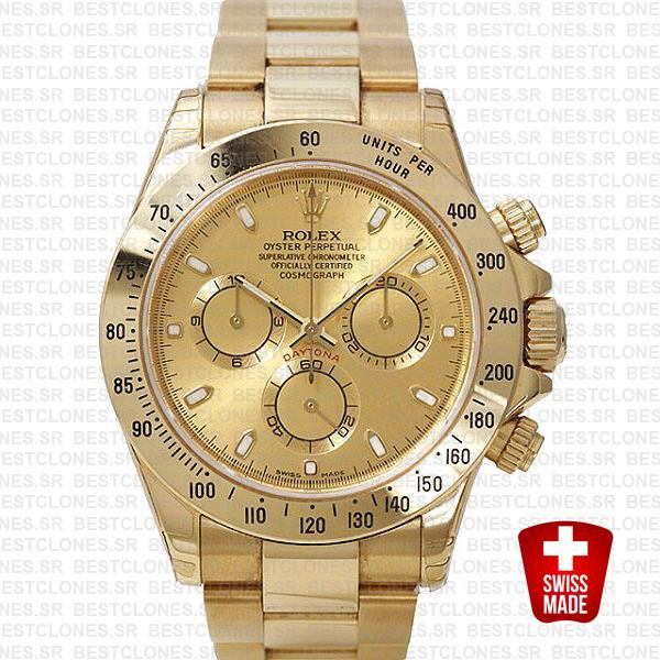 Rolex Daytona Gold Gold 40mm 116528