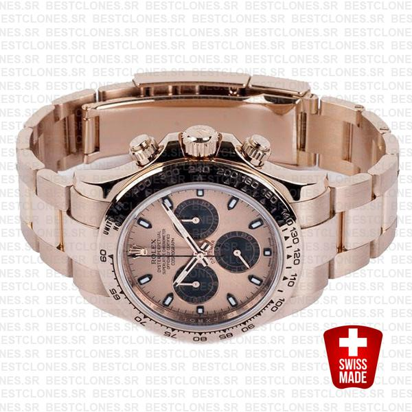 Rolex Daytona Rose Gold Panda Gold 40mm 116505