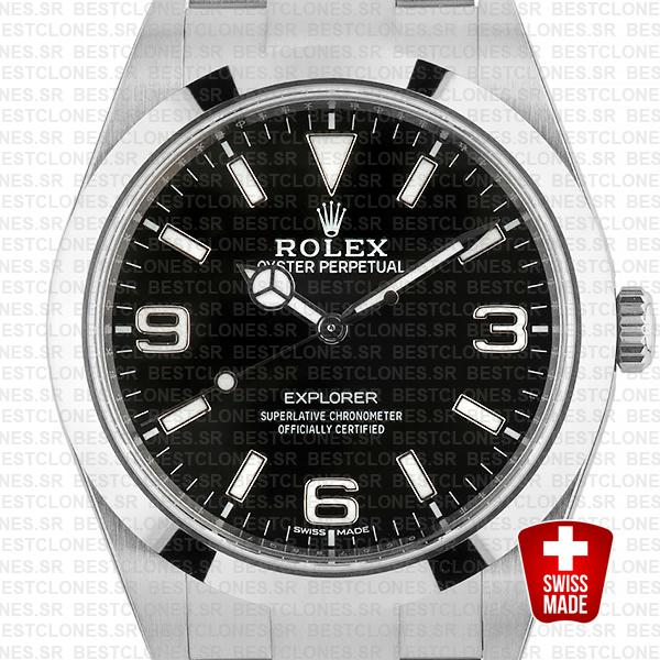Rolex Explorer I 214270 39mm Swiss Replica
