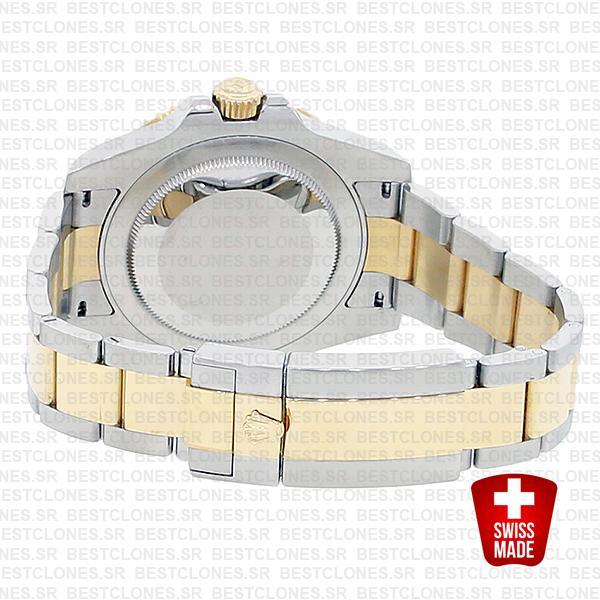 Rolex Gmt Master Ii 2 Tone Black Ceramic 40mm Oversized 116713