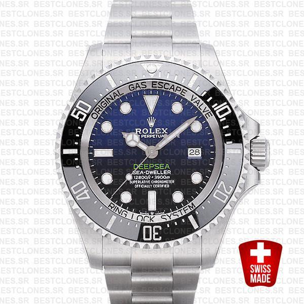 Rolex Deepsea D Blue Dial James Cameron 44mm 126660 Swiss Replica