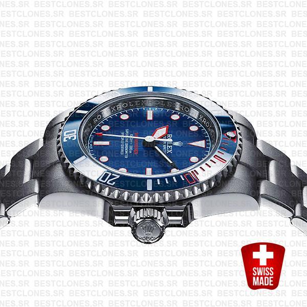atrisans de geneve rough matt diver blue rolex submariner swiss replica 4