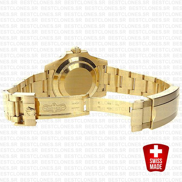 Rolex Submariner Gold Ceramic 40mm 116618