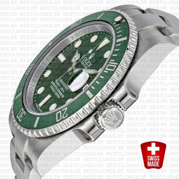 Rolex Submariner Steel Green Ceramic 40mm 116610