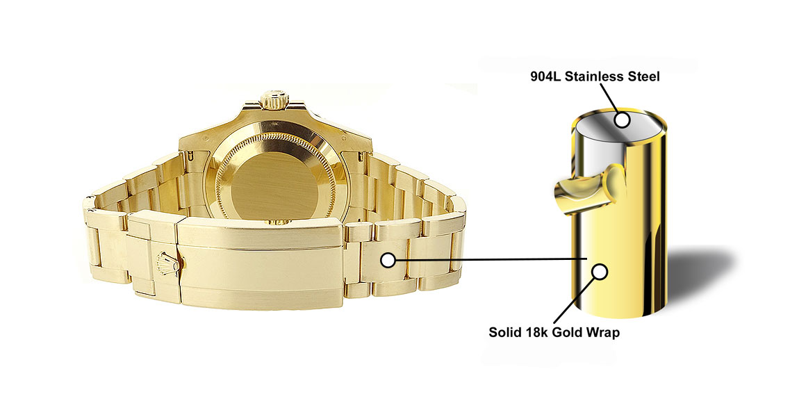 Solid 18k Gold